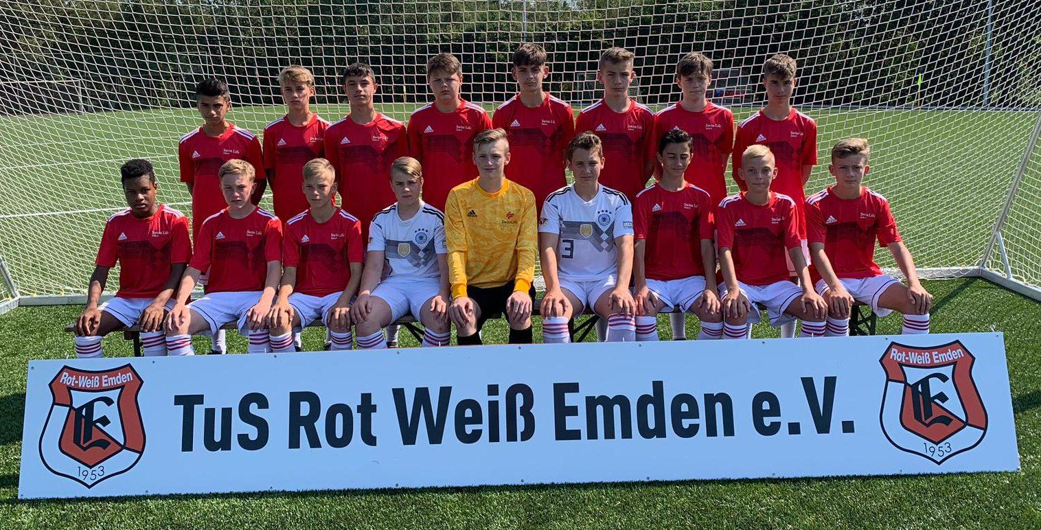 C1 Junioren Bsv Kickers Emden Tus Rot Weiss Emden