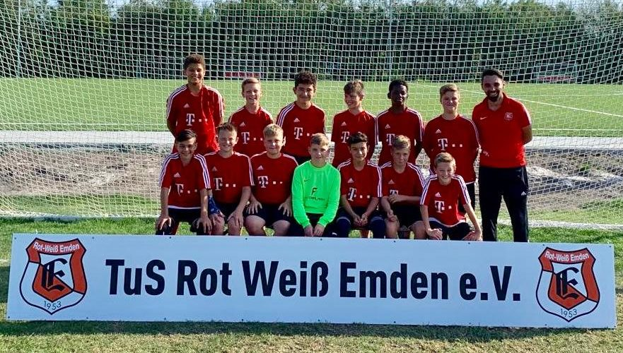 TuS Rot-Weiß Emden D1-Junioren Saison 19/20