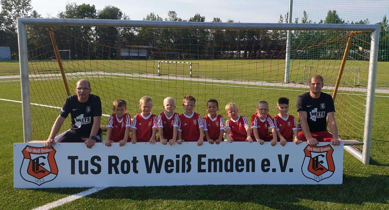 TuS Rot-Weiß Emden G-Junioren Saison 19/20