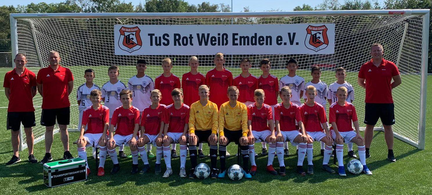 TuS Rot-Weiß Emden C3-Junioren Saison 19/20