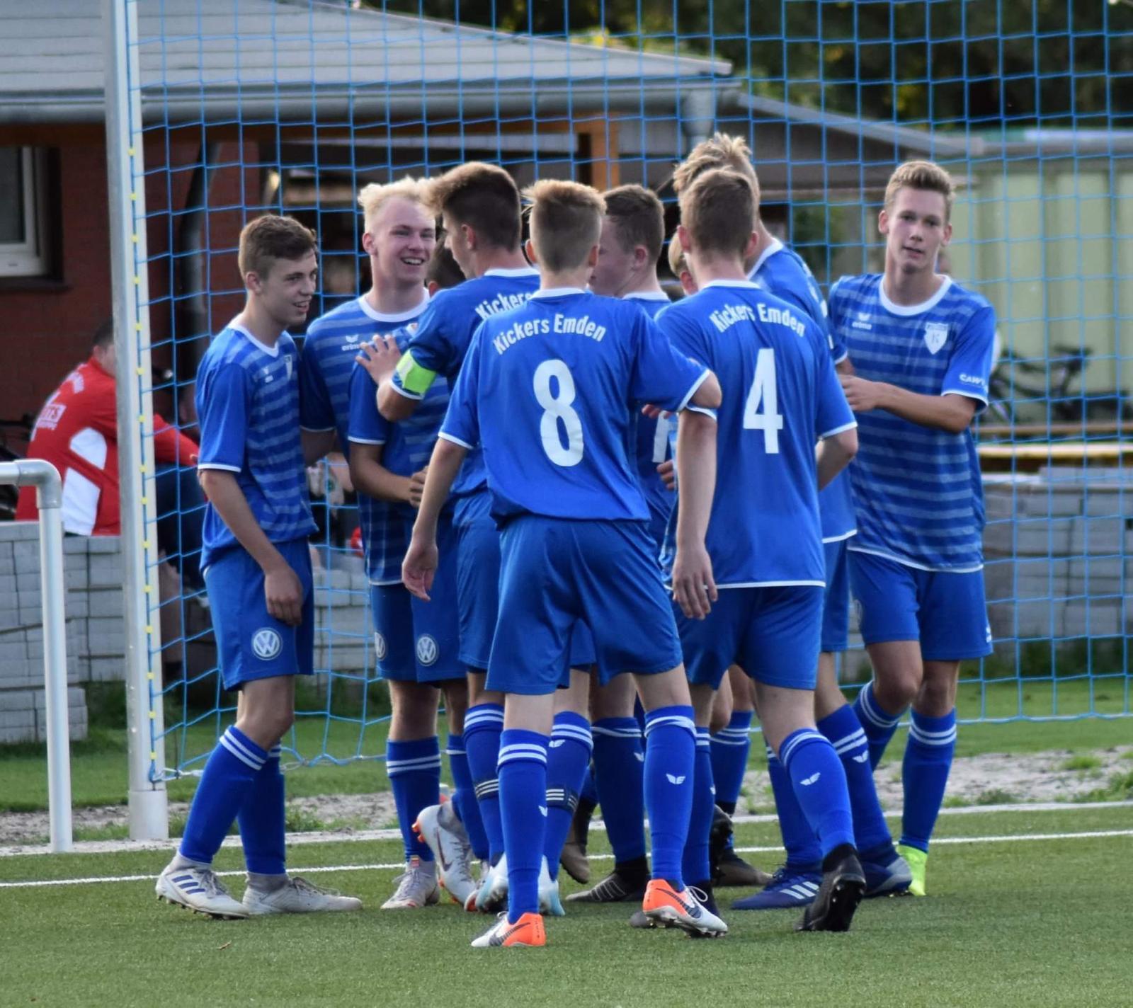 Bsv Kickers Emden U17 Niedersachsenliga Lz Im Sv Meppen