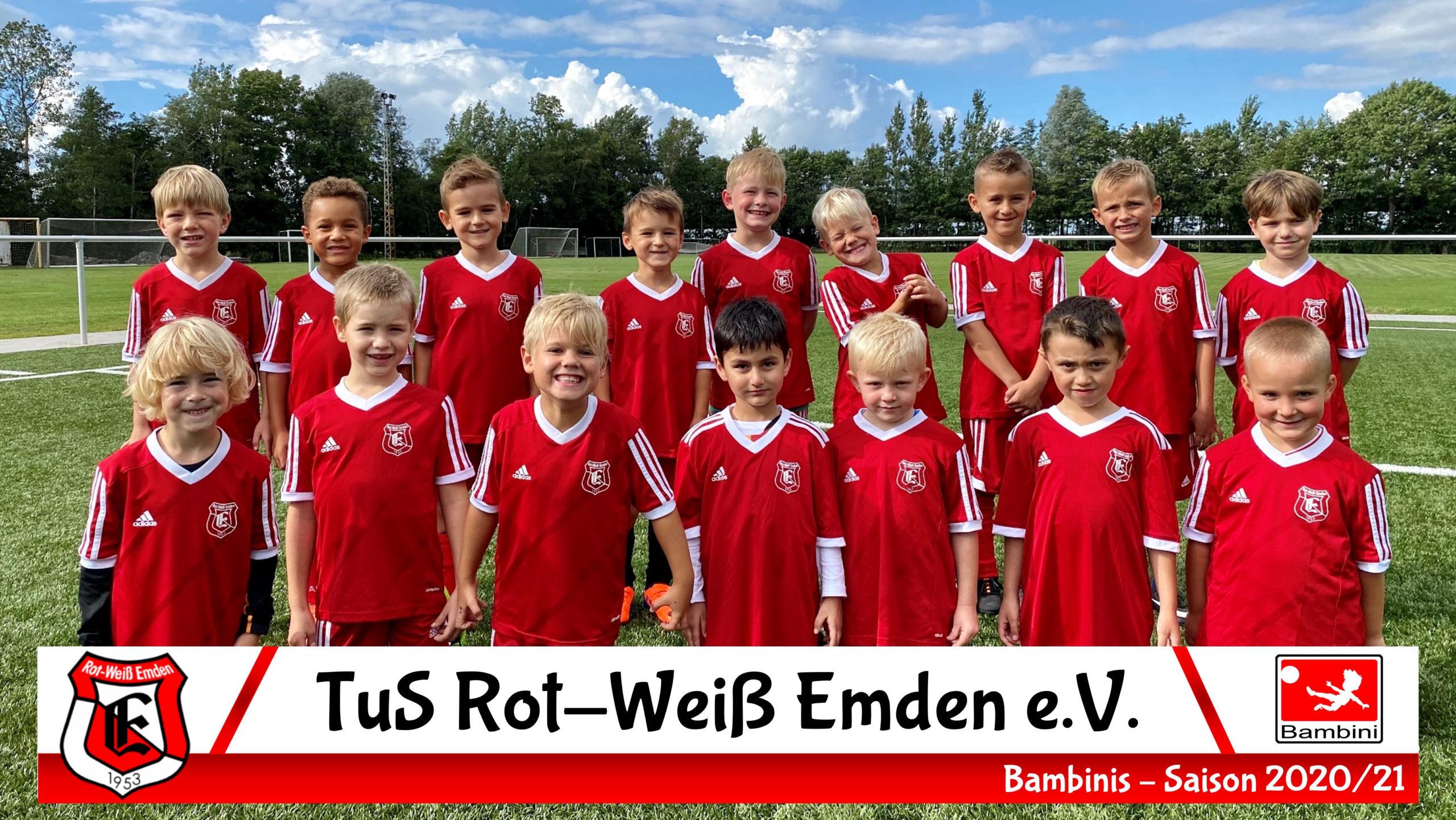 TuS Rot-Weiß Emden G-Junioren Saison 20/21