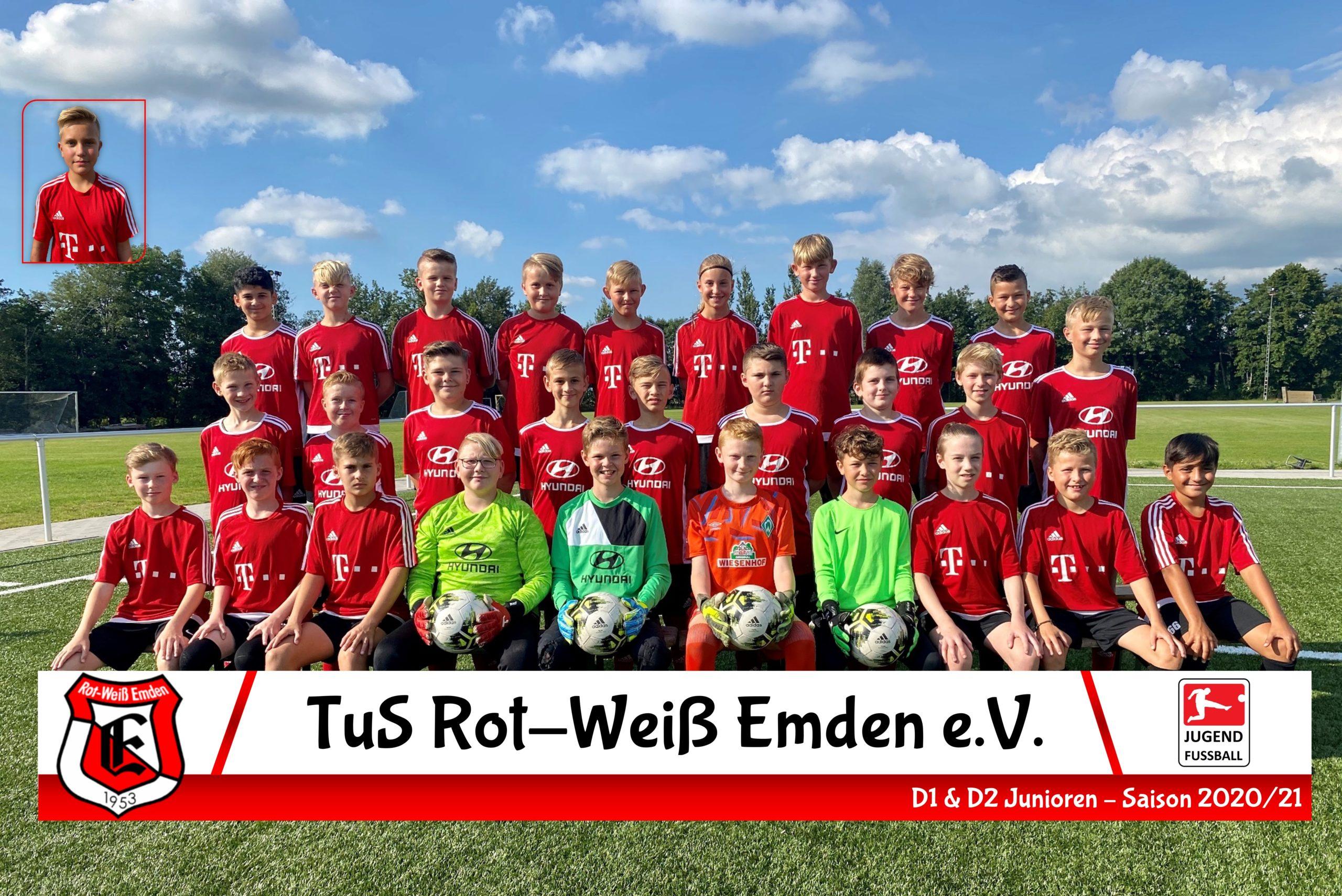 TuS Rot-Weiß Emden D1-Junioren Saison 20/21