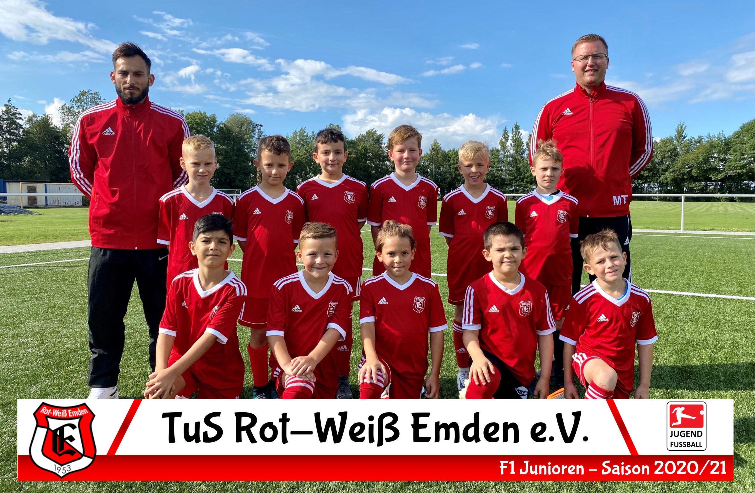 TuS Rot-Weiß Emden F1-Junioren Saison 20/21