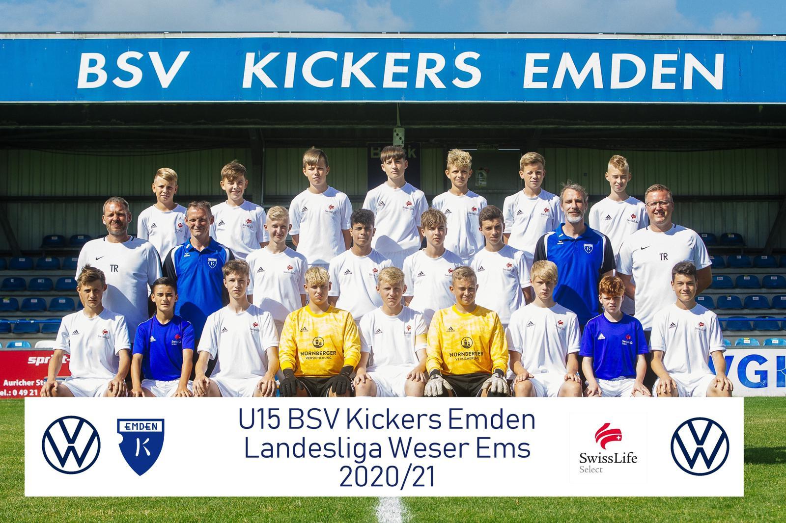 TuS Rot-Weiß Emden Landesliga U15 Saison 2020 / 2021