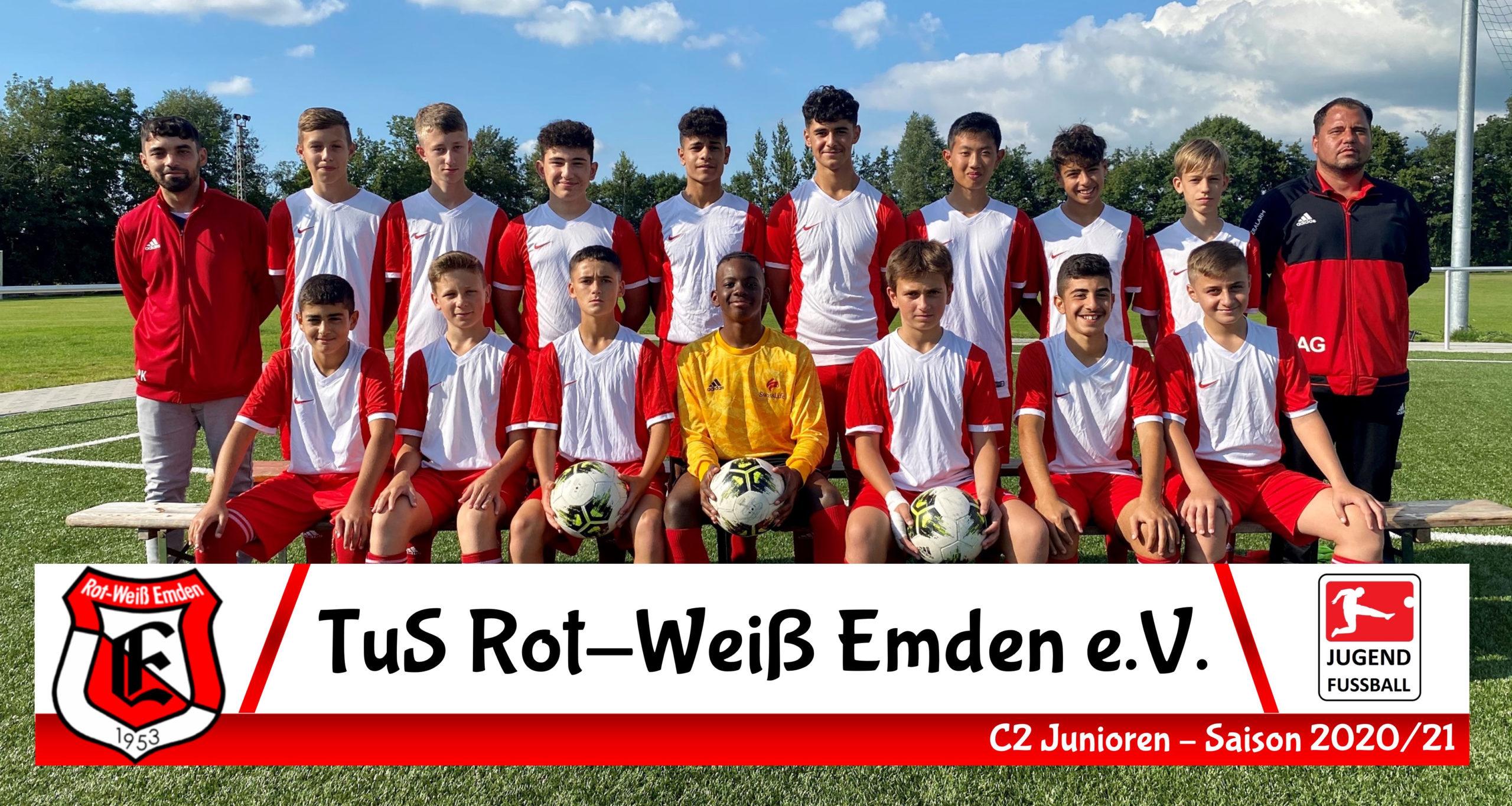 TuS Rot-Weiß Emden C3-Junioren Saison 20/21