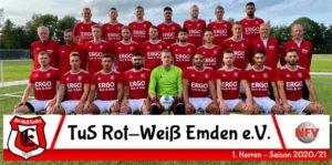 1 Herren TuS Rot-Weiß Emden Saison 2020/2021