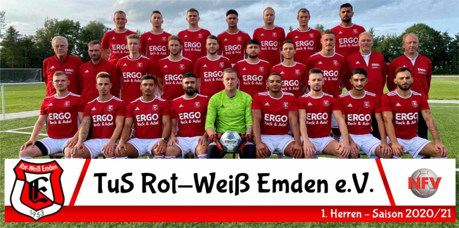 TuS Rot-Weiß Emden 1. Herren Saison 2020 / 2021