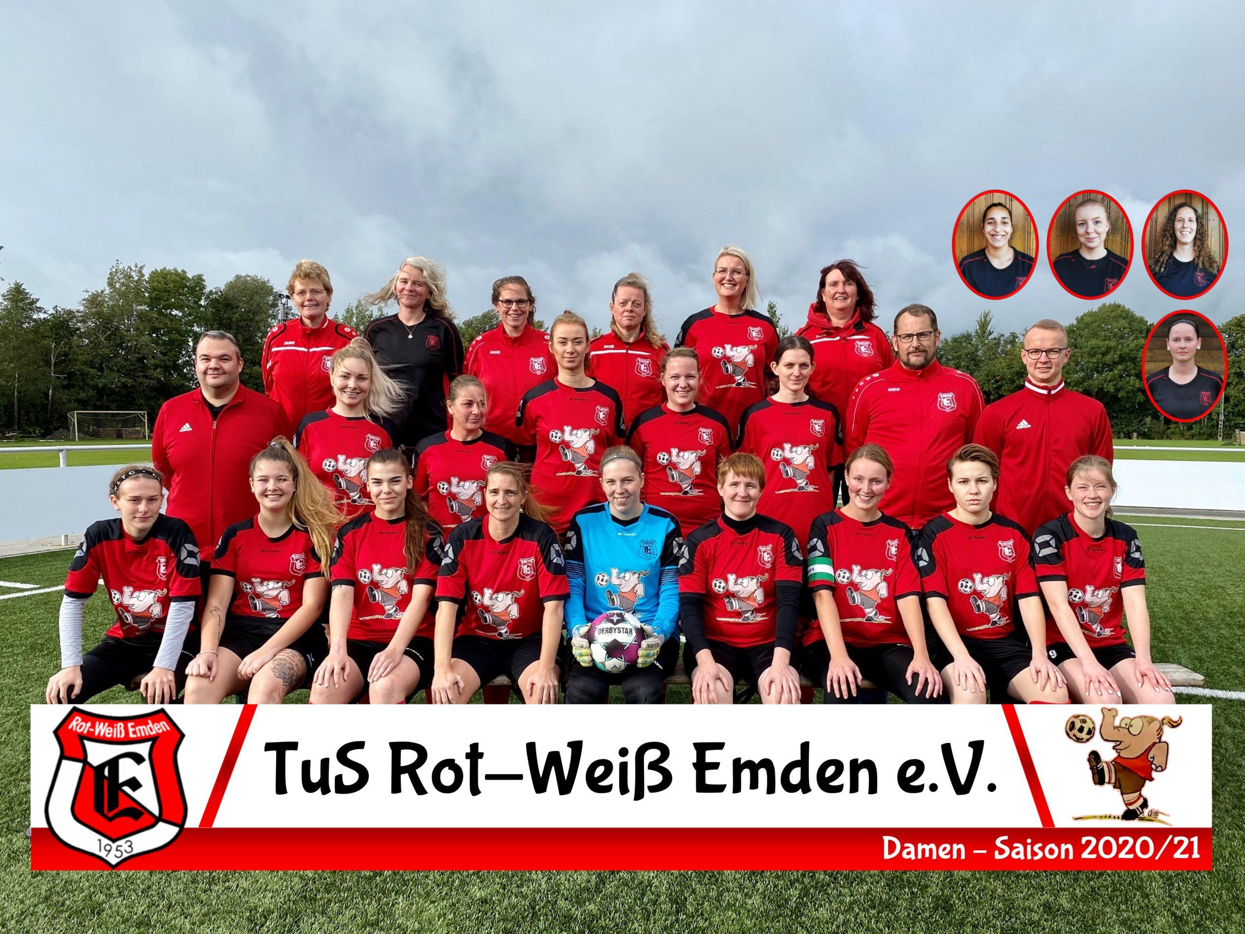 TuS Rot-Weiß Emden Damen Saison 20/21