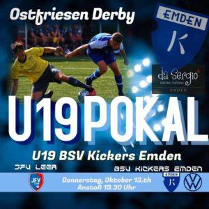 Pokal JFV Leer - BSV Kickers Emden U19