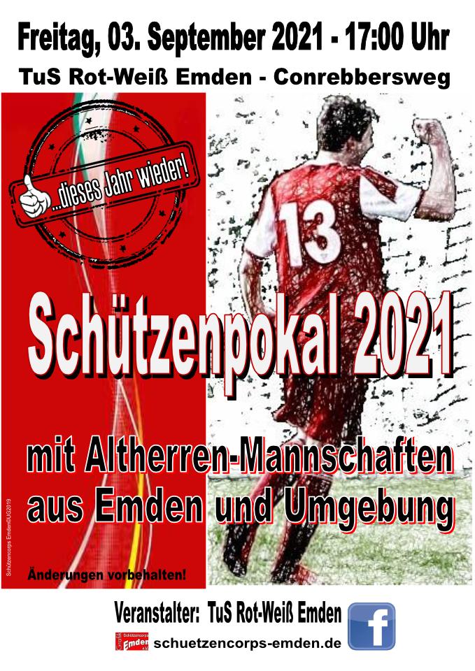 Schützenpokal 2021 - TuS Rot-Weiß Emden - Conrebbersweg 2