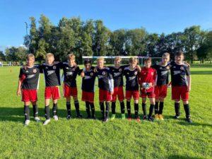 D1 holt dritten Platz beim Turnier des SV Stern Schwerinsdorf