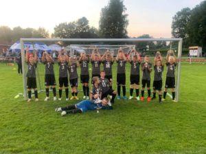 Erster Sieger der 7. RVB Jugendfußballtage beim SV Stern Schwerinsdorf.